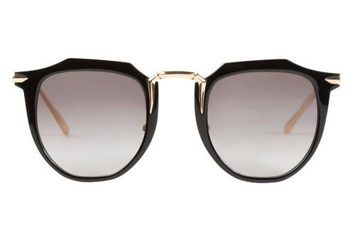 Chateau - Gloss Black w/ Gold Titanium, Black Gradient Lens