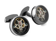 Single Tourbillon Gear Cufflinks