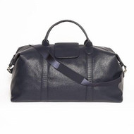 Stanford Black Duffel Bag - Genuine Leather