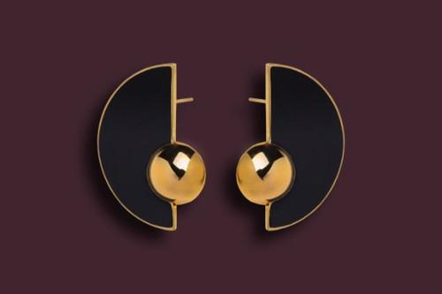 Guimard Earring Shiny Gold