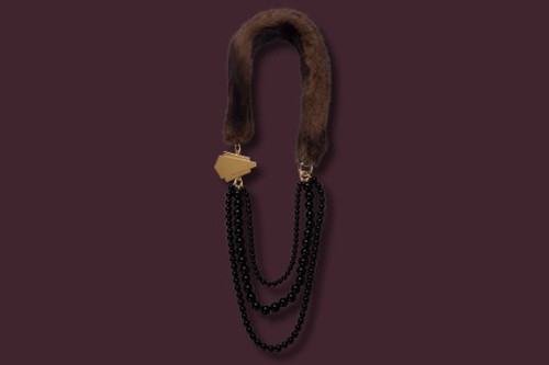 Grasset Necklace Fur