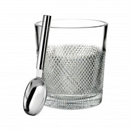 Diamond Line Ice Bucket with Scoop