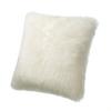 Lambs Wool Cushion Ivory
