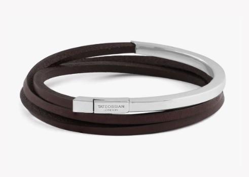 Multi-Strand Cobra Bracelet Brown - Medium