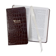 Professional Wine Reference Crocodile Embossed Leather