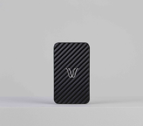 Wireless Power Bank | Carbon Look Black