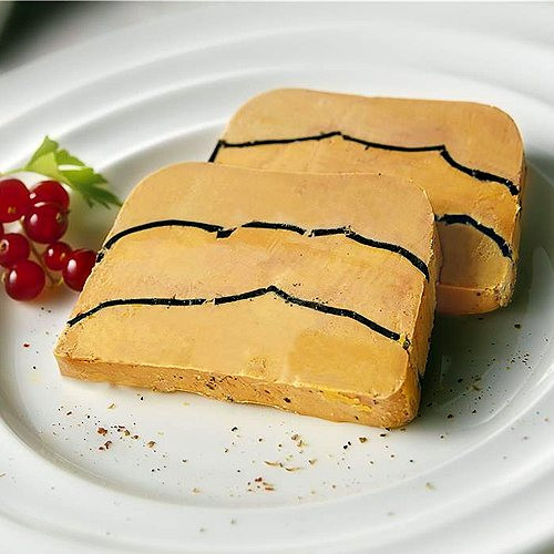 Whole Duck Foie Gras With Truffles, Millefeuille 17.6oz
