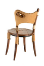 Cook Island Chair - Coffee Oil Leather - Back View