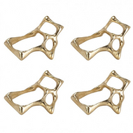 Bone Napkin Ring set of 4