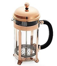 Chambord Coffee maker, 8 cup, 34 oz Copper