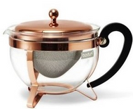 Chambord Classic Copper Tea Pot