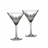Lismore Diamond Martini Glasses