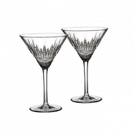 Lismore Diamond Martini Glasses