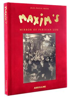 Maxim's Mirror of Parisian Life Book Cover
