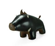 Boar Bookend - Black