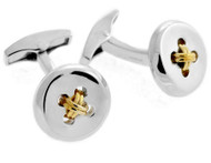 Button Cufflinks