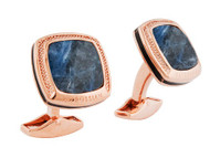 Signature Square Sodalite Cufflinks