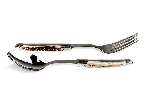 Serving Set, prestige range, deer horn handle