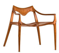 Draper Low Chair - Front View