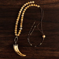 Boar's Tusk Necklace