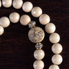 Ivory Antler Necklace Stone Detail