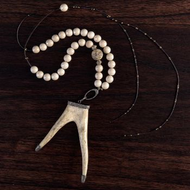 Ivory Antler Necklace