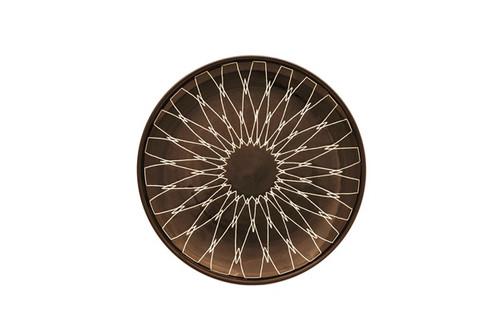 Iris Bread Plate