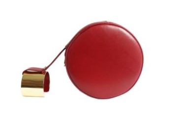 Le Rond Cuff - Red - Front