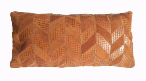 Tresse Pena - Tan Suede Leather