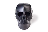 Heavy Eyes Black Leather Skull