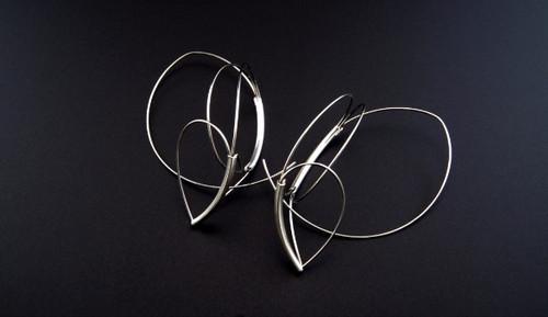 Silver Lining Earrings - 2