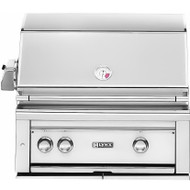 "Lynx 30"" Built-in Gas Grill with Rotisserie"