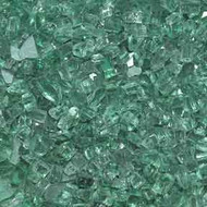 "HPC Fire Pit Glass - Evergreen 1/4"" - 10 lbs (FPGLDARKGREEN)"