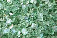 "HPC Fire Pit Glass - Evergreen 1/4"" - 10 lbs (FPGLEVGRNREFL)"