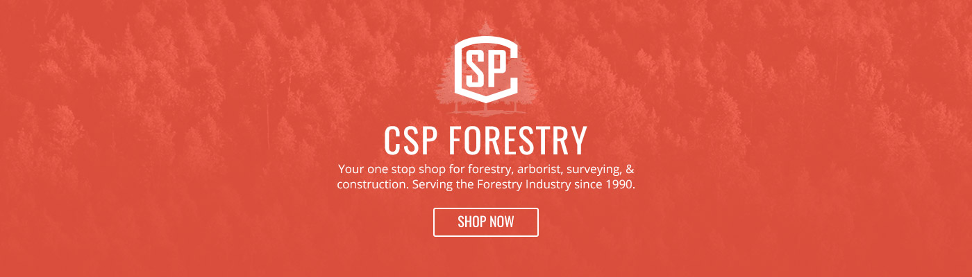 CSP Forestry - Your one stop shop for forestry, arborist, surveying, safety supplies & PPE & construction. Serving the Forestry Industry since 1990.