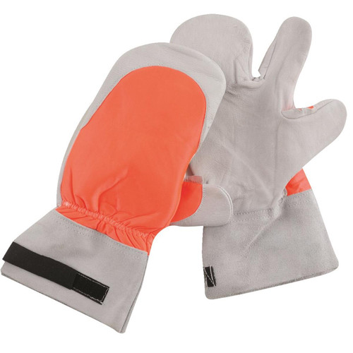 SwedePro Chain Saw Protective Gloves - Chain Saw Mitts