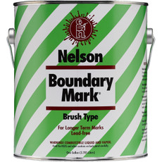 Nelson Brush Type Boundary Mark Paint