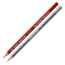 Markal Welder's Pencils Silver Streak & Red Riter