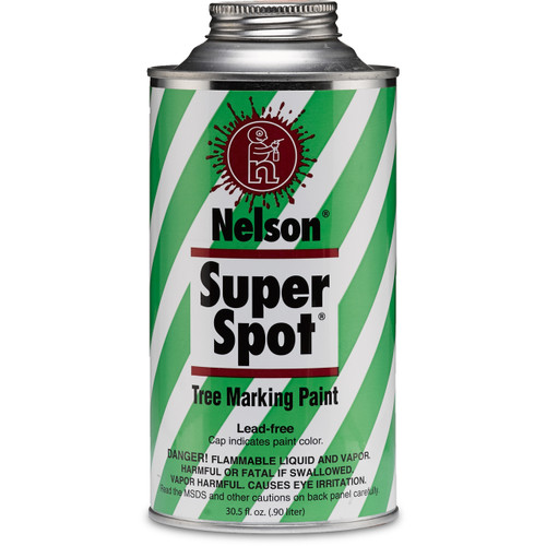 Nelson Super Spot Tree Marking Paint Quart Size