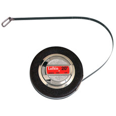"Lufkin Chrome Clad Diameter Tape - English, 3/8"" x 20'"