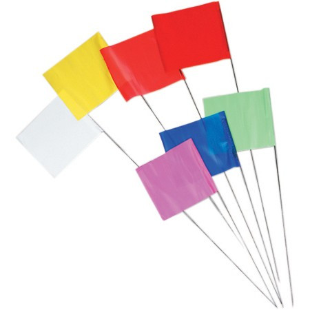 Stake Wire Marking Flags