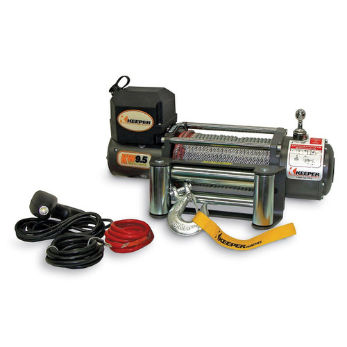 Keeper 9500 lb Electric Winch