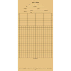 Four Species Timber Tally Card (100/pk)