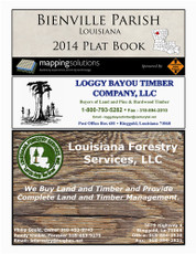 Bienville Parish Plat Map Book - Landowner Map 2014