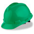 MSA Cap Style Hard Hat (Staz-On Adjustable) Green