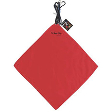 Bungee Flag, Tailgate Warning Flag - Red