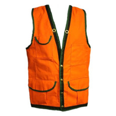 Cordura Forestry Cruiser Vest, Heavy Duty, 10 Pocket | Forestry Jacket