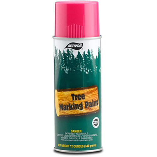 Aervoe Lead Free Tree Marking Paint - Fluorescent Pink