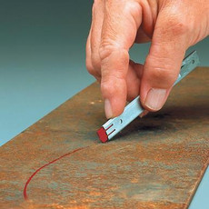 Markal Red-Riter Metal Marker - Flat Red (96005)