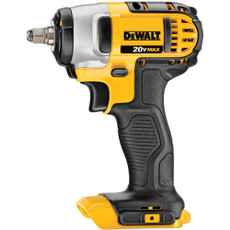 "DeWalt 20-Volt Max Lithium-Ion 3/8"" Impact Wrench w/ Hog Ring (Tool Only), DCF883B"
